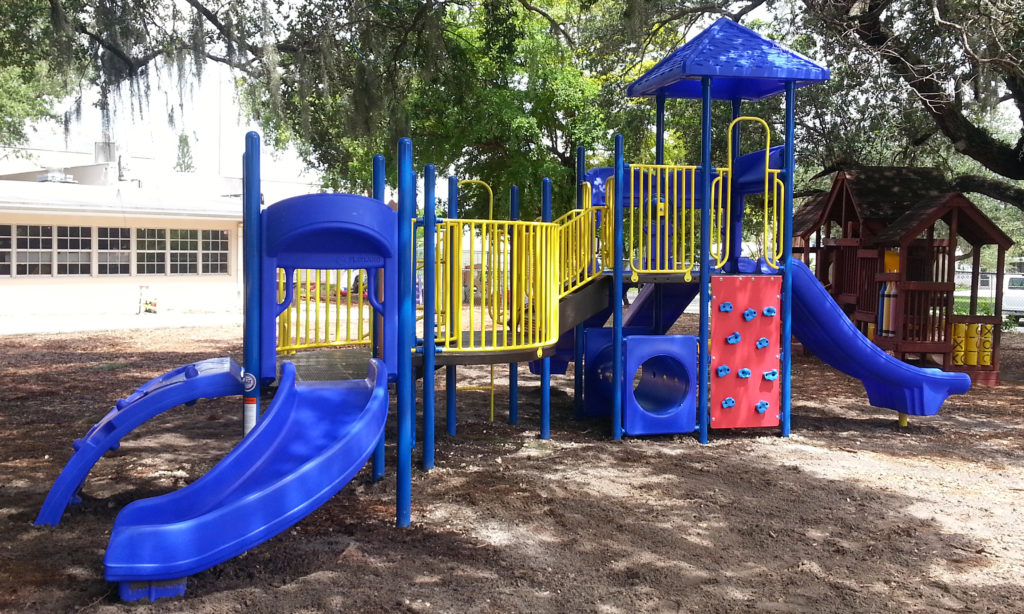 Safe4Play Playground Installation, Synthetic Turf, Shade Solutions